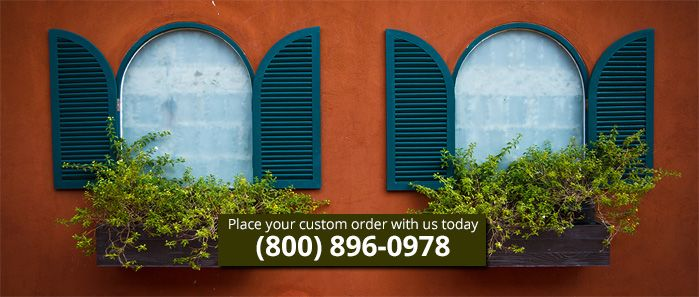 Beautiful Exterior Shutters for your Home