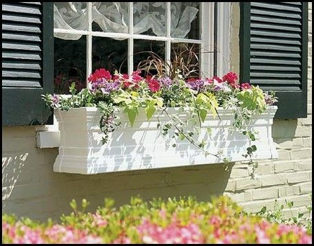 PVC Window Boxes